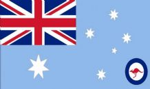 AUSTRALIA RAAF ENSIGN - MINI FLAG 22.5cm x 15cm